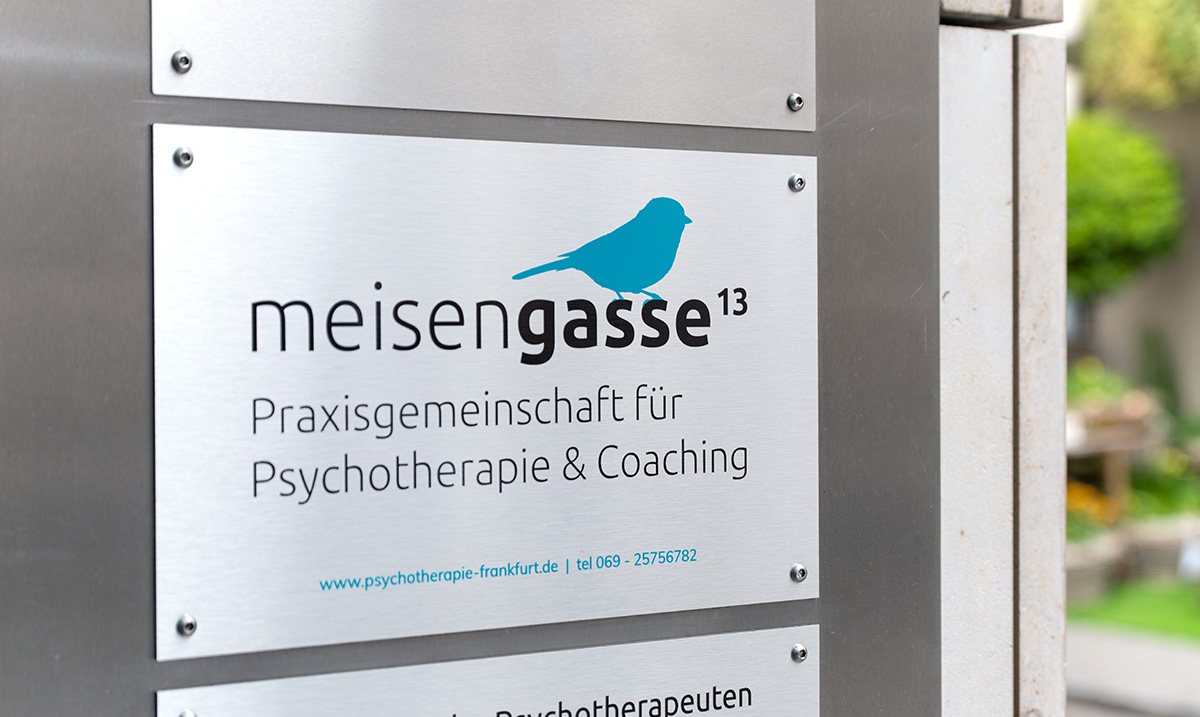 Corporate Design für eine Psychotherapie Praxis