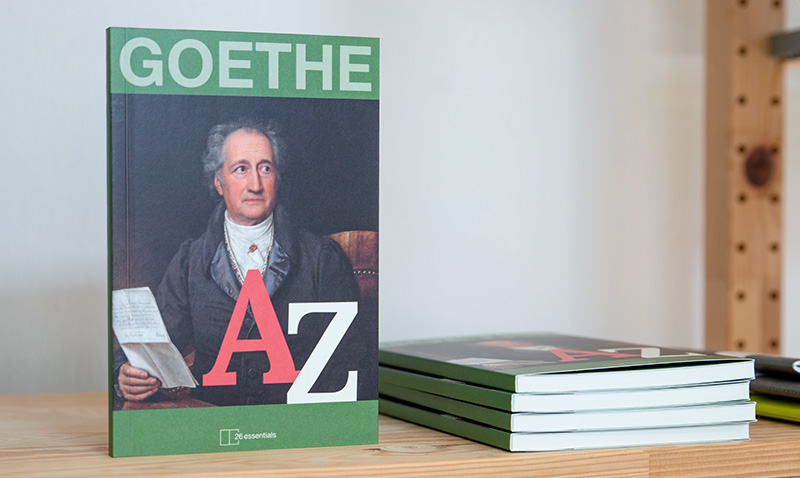 Goethe A bis Z – Editorial Design