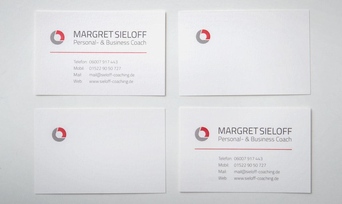 Corporate Design Für Margret Sieloff Gestaltung Von Logo